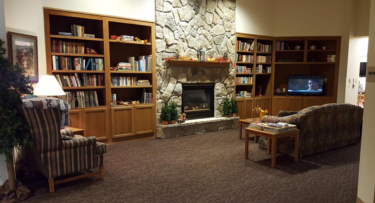 Living Area at Golden Ridge Retirement Community